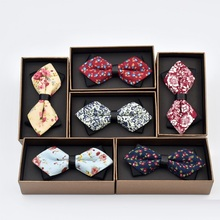 Brand Bow Ties for Men Christmas Tree Bowties For Mens Wedding Cravat Fashion Casual Bowknot Gifts