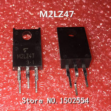 10 TEILE/LOS Spot SM2LZ47 M2LZ47 TO-220F Triac 800 V 2A Qualitätssicherung