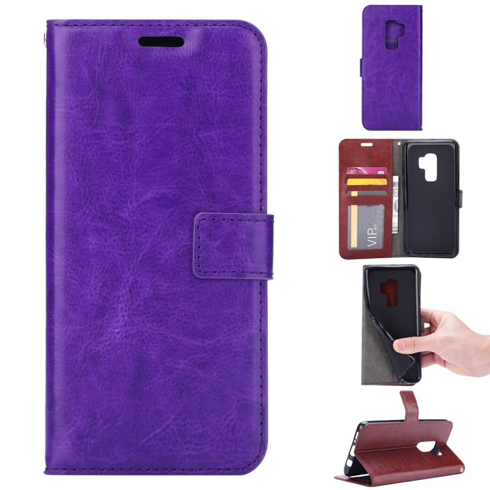 S9plus Case PU կաշվե ծածկը Samsung Galaxy S8 S9 S 8 Plus - Բջջային հեռախոսի պարագաներ և պահեստամասեր - Լուսանկար 2