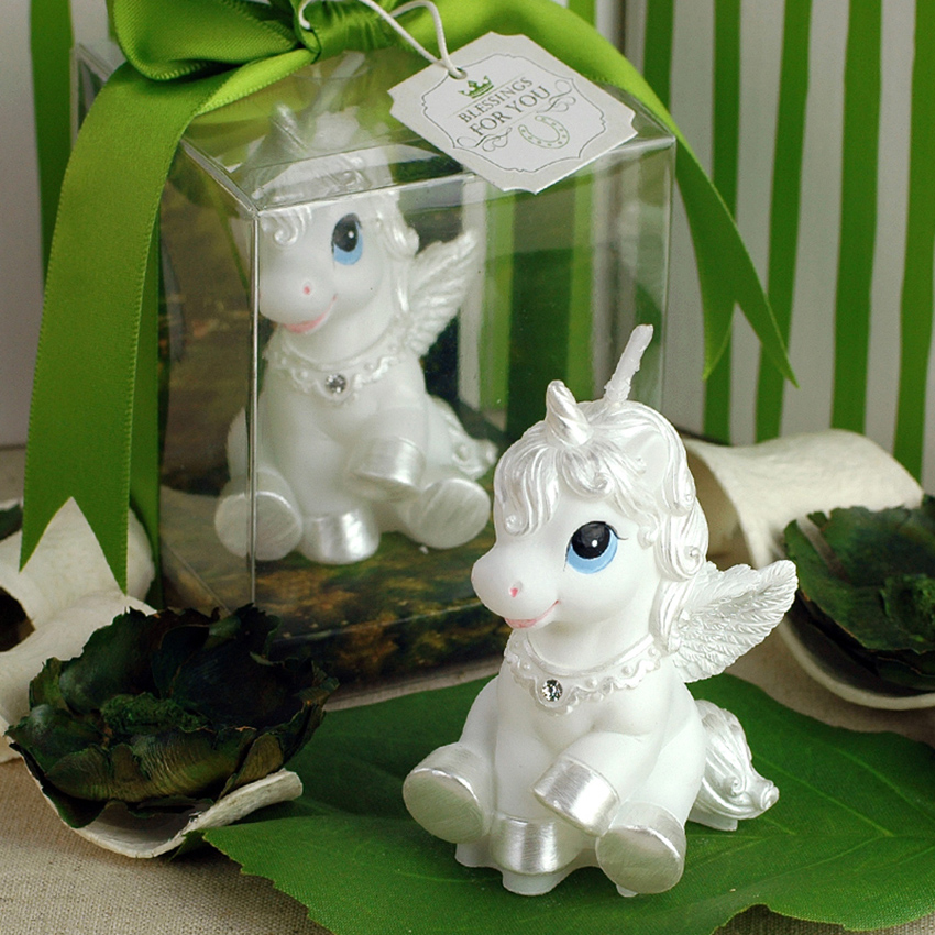 Creative cartoon baby horse candles child birthday candle cake candels Festival party decor Smokeless technology Free shipping 1