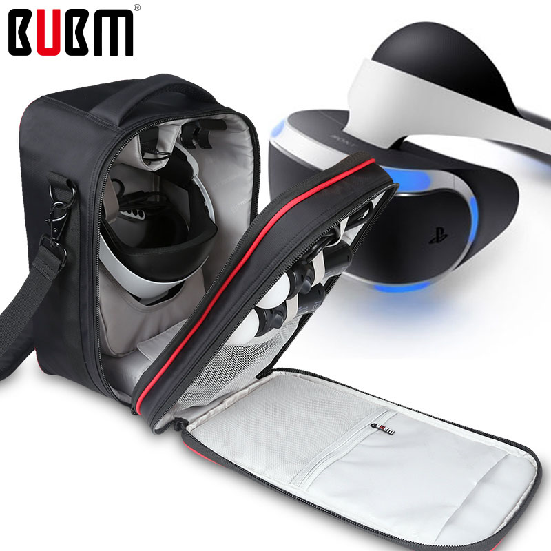 BUBM VR virtual reality 3D glasses bag box PSVR VR glasses special bag storage organizer  protective waterproof shockproof omimo wifi virtual reality vr helmet 3d three dimensional android virtual reality glasses full hd 1080p