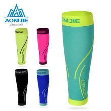 AONIJIE Sports Compression Calf sleeve Breathable Warm Leggings Shin Guard Cycling Running Basketball Football Safety Protective