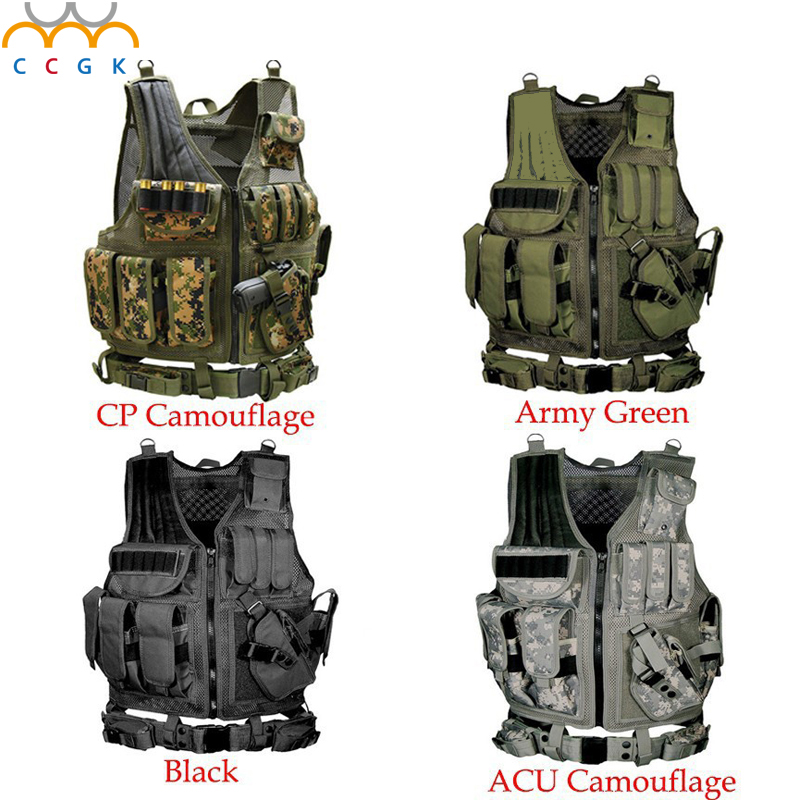 2017 New Colete tatico loja artigos militares airsoft tactical vest Leapers Law Enforcement molle Tactical Vest SWAT schutzweste colete tatico balistico swatt paintball airsoft 15%off cs airsoft game tactical military combat traning protective security vest