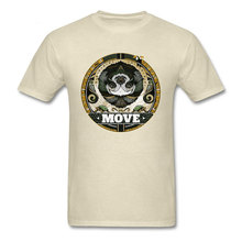 New Arrival Men T-shirt Funny Xmas Gift T Shirt Dont Move Sloth Print Clothing Vintage Beige Tops Tees Cotton Clothes Crewneck