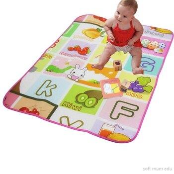 Nowe dziecko Playmat dzieci na zewnątrz mata dywan dzieci indeksowania maty na siłownię pianki eva dywany edukacyjne ziemi chłopcy dziewczęta rozwoju zabawki