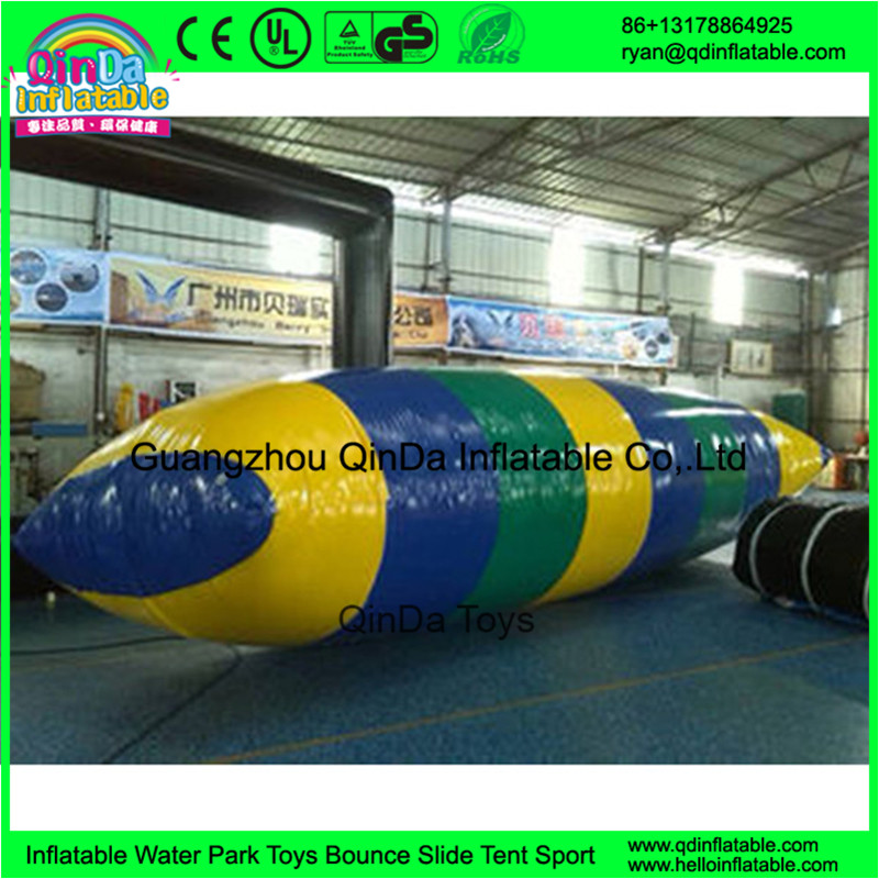 inflatable water jumping catapult blob32