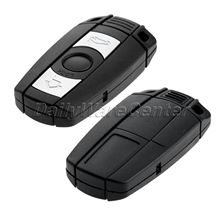 Smart Remote Key Modified Flip Folding Shell + Chip For BMW 1 3 5 6 7 Series X5 X6 Z4 Fob Case Car Replacement