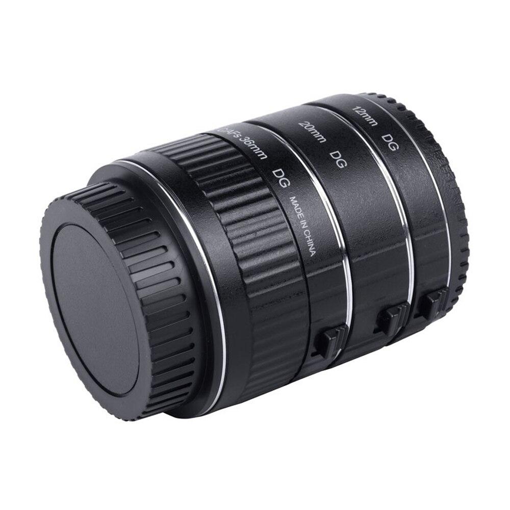 Adaptateur d'objectif Viltrox DG-C Tube d'extension Macro monture métal Auto Focus objectif Macro adaptateur d'objectif de prise de vue Macro pour Canon EOS 750D - 3