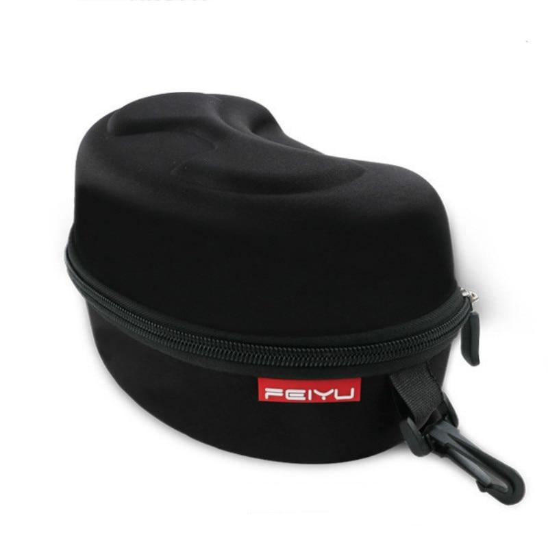 Outdoor Sports Skiing Goggles Box Motorcycle Cycling Snowmobile Goggles Snowboarding Ski Eyewear Glasses Hard Protector Bag Case