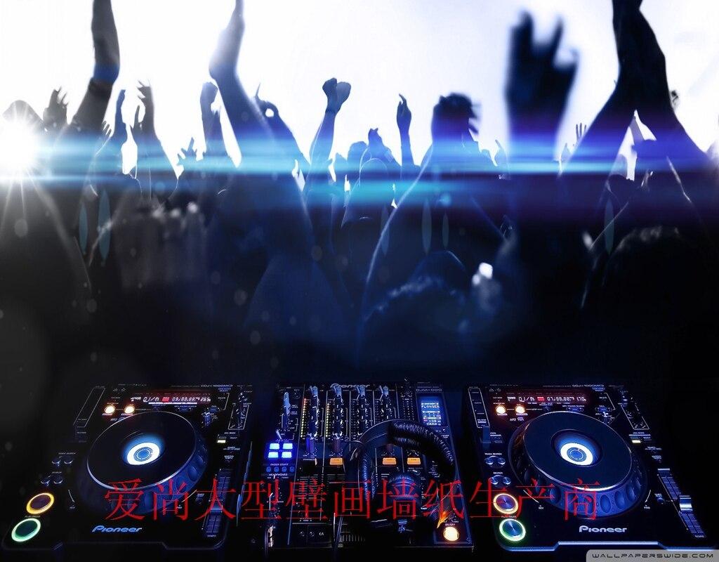 Rock N Roll Disco Dan Ando M Sica Tempo Feliz Moda 3d Sala De Ktv  -> Papel De Parede Para Sala Rock N Roll