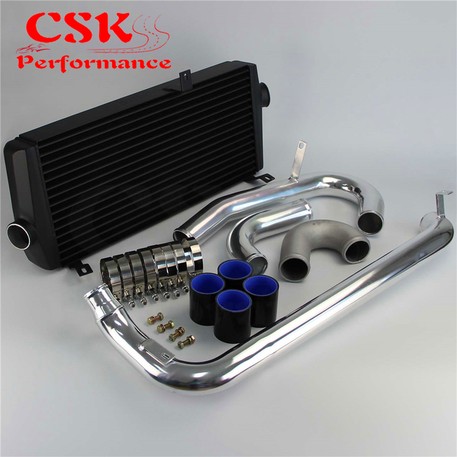 High Performance Intercooler Kit Fits For Mitsubishi lancer EVO 1 2 3 I III 92 95 on CSKS-Performance Accessories Store