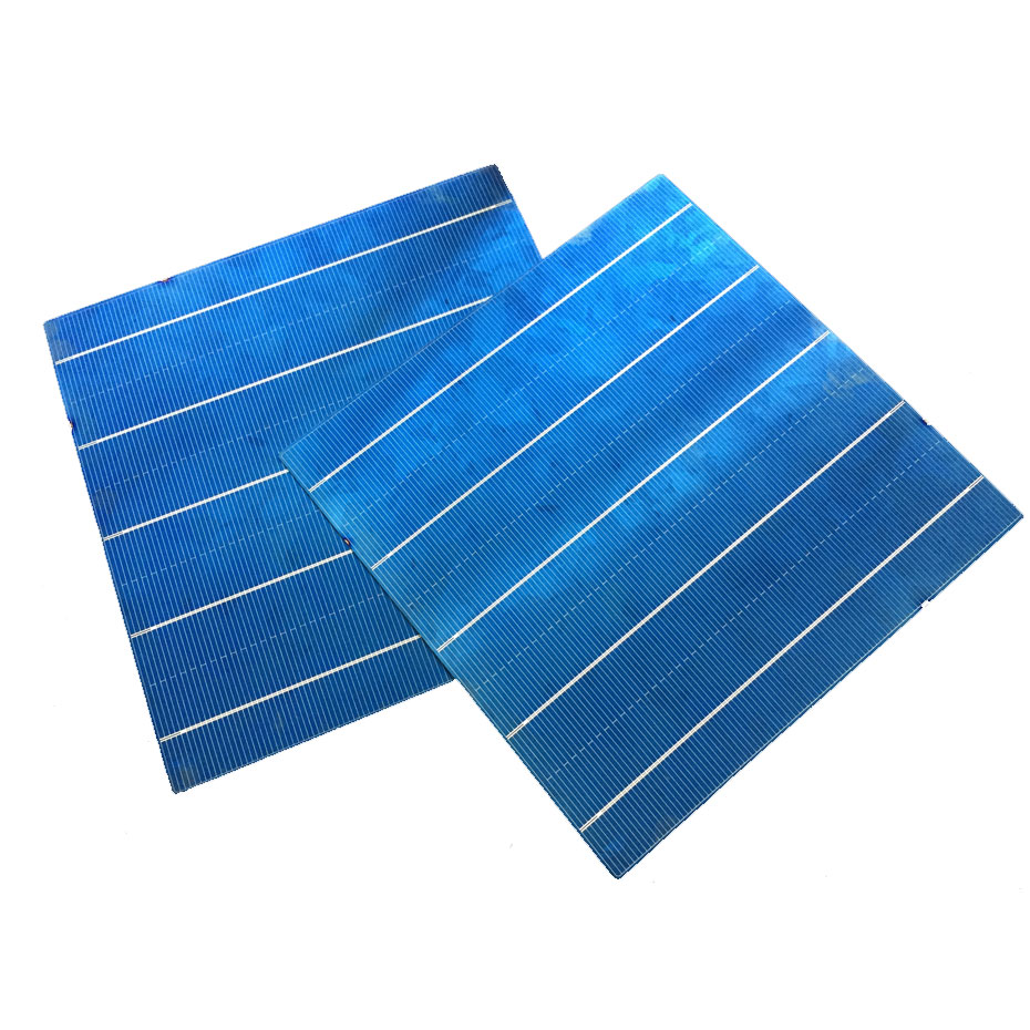 Image 3 - 40PCS 4.5W 6x6 Photovoltaic Polycrystalline 5BB Solar Cells  For home DIY Solar Panel solar charger-in Solar Cells from Consumer Electronics