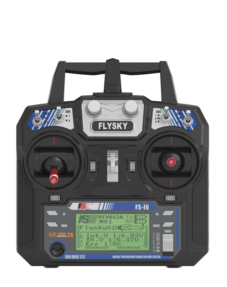 Original FLYSKY FS-I6  6 Channel 2.4GHz  Remote Controller Rc Transmitter With Receiver For Rc Airplane Boat Helicopter