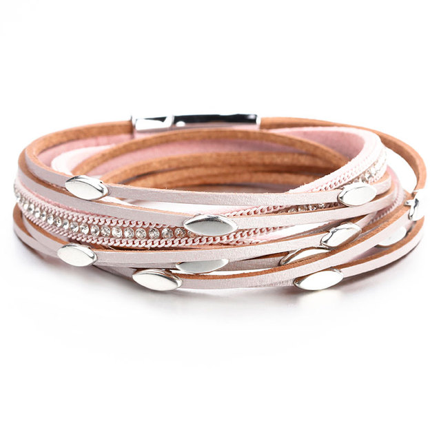 Amorcome Leather Bracelets...
