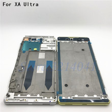 New Middle Front Frame Bezel Housing LCD Screen Holder Repair Parts For Sony Xperia XA Ultra C6 F3215 F3216 F3212