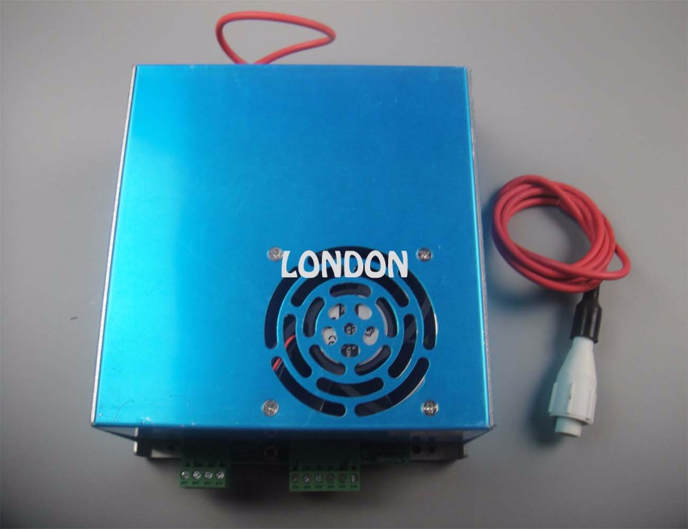 60 W AC220V CO2 laser alimentation pour 60 W CO2 laser tube