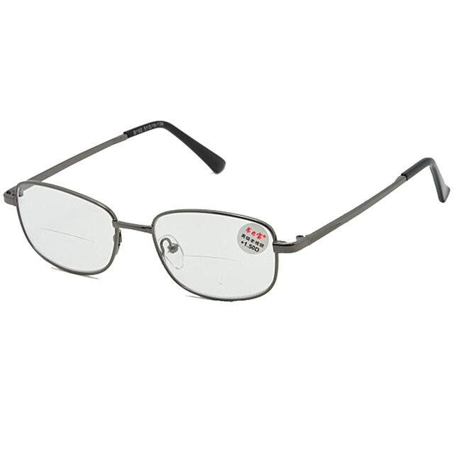 c4c8d655a9 = CLARA VIDA = lentes bifocales de borde completo avanzado de aleación de  electrochapado hombres mujeres gafas de ...