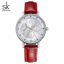 SK Marca de Lujo Vestido de Las Señoras Relojes Moda Montre Femme Cuarzo Reloj de la Mujer Relojes Mujer 2017 Relogio Feminino Reloj 0005