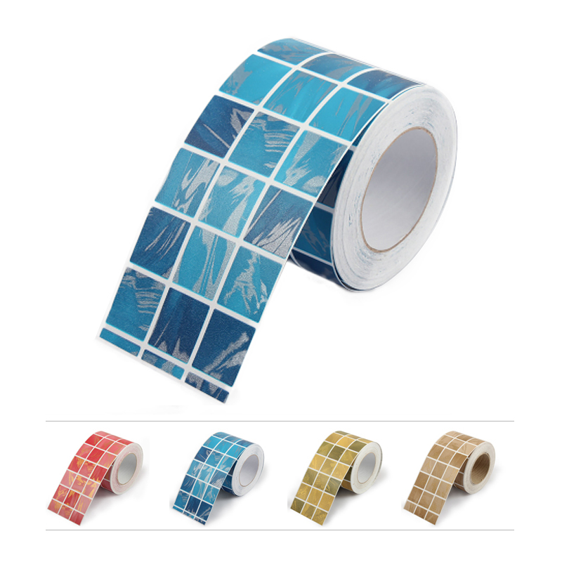 diy self stick waterproof bathroom mosaic wall sticker kitchen ceramic stickers home