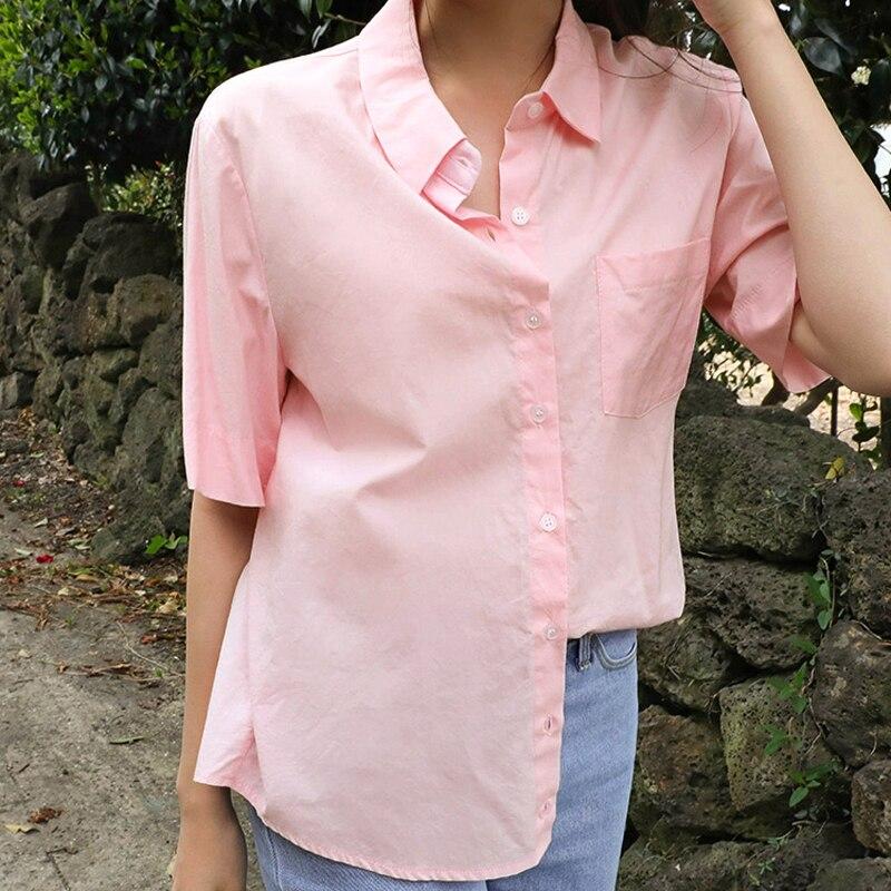 f8928a6f5ea Новые Классические мягкие женские белые рубашки с длинным рукавом тонкие элегантные  офисные женские деловые рубашки