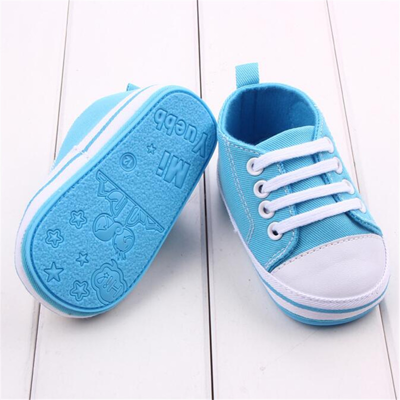 Brand High Quality Sapatos Bebes Crochet Baby Shoes First Walkers Chaussure Enfant Baby Shoes Allstar Canvas Shoes 11 12 13 14cm