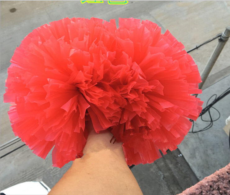 32CM Yüksək keyfiyyətli oyun pompoms Ucuz praktik cheerleading - Komanda idman növləri - Fotoqrafiya 4