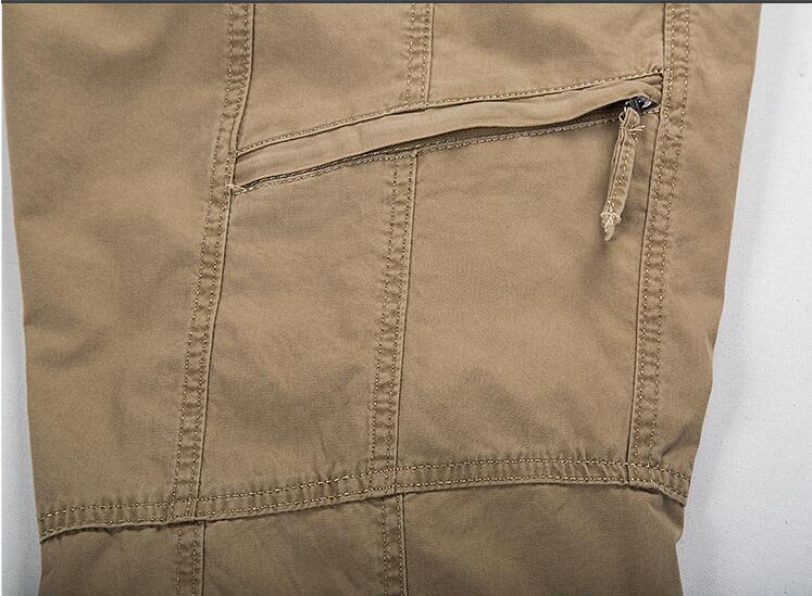 HTB1LHhRIgmTBuNjy1Xbq6yMrVXad Big Size Casual Men Joggers Pants 2018 summer Loose Wide Cargo Pants Cotton Jumpsuit Elastic Waist Harem tactica Trousers M-6XL