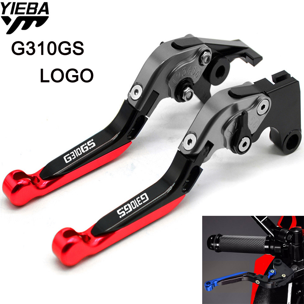 For BMW G310GS G 310 GS G 310GS G310 GS 2017 2018 Motorcycle Accessories CNC Brake Handle Adjustable Folding Brake Clutch Levers sale for bmw k1200r sport k1200s motorcycle adjustable folding extending cnc pivot brake clutch levers aluminum moto accessory