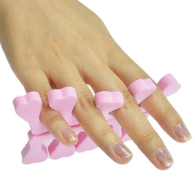 Online Shop 10pcs Toe Separators Finger Foot Sponge Soft Gel Uv