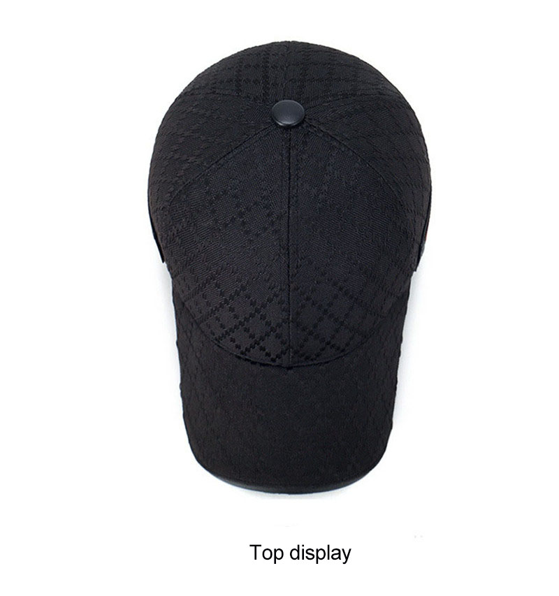 black trucker hat 5
