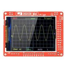 JYE Tech DSO138 Mini Digital Oscilloscope DIY Kit SMD Parts logic analyzer Pre-soldered Electronic Learning Set 1MSa/s 0-200KHz
