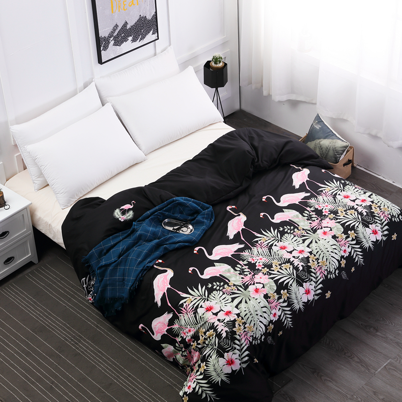 MECEROCK Polyester Printing Duvet Cover Protector for Your Quilt Hot Sale Can Be Machine Washed Quilt Cover More Size for Choose