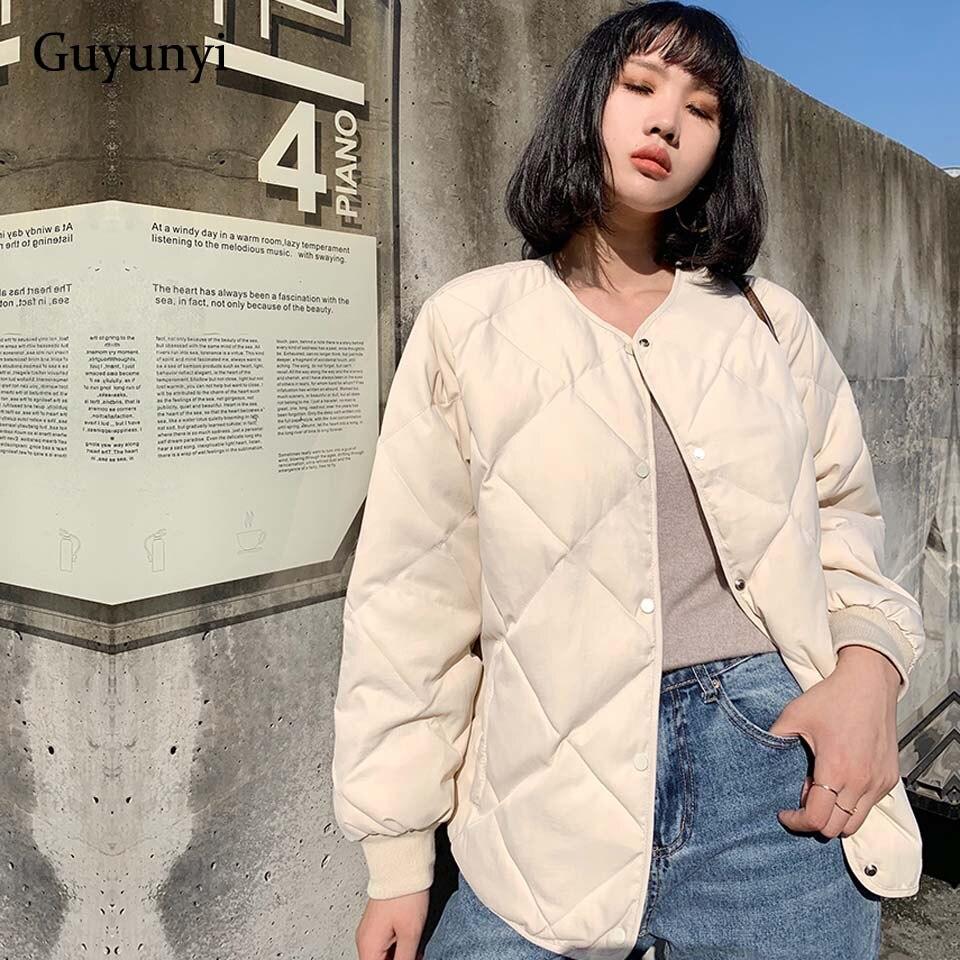 Couleur unie haute rue basique vestes 2019 automne hiver manches longues Simple boutonnage Simple confortable chaud femmes manteaux