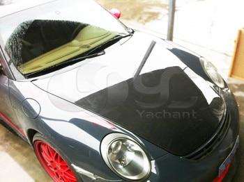 Car-Styling Carbon Fiber Body Kit Hood Bonnet Fit For 2005-2011 Porsche 987 Boxster Cayman 911 997 OEM Style Hood Bonnet
