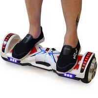 Hoverboards 6 5 Led Lights Electric Skateboard Hoverboard Self Balancing Scooter Hoover Board With Bluetooth Electric