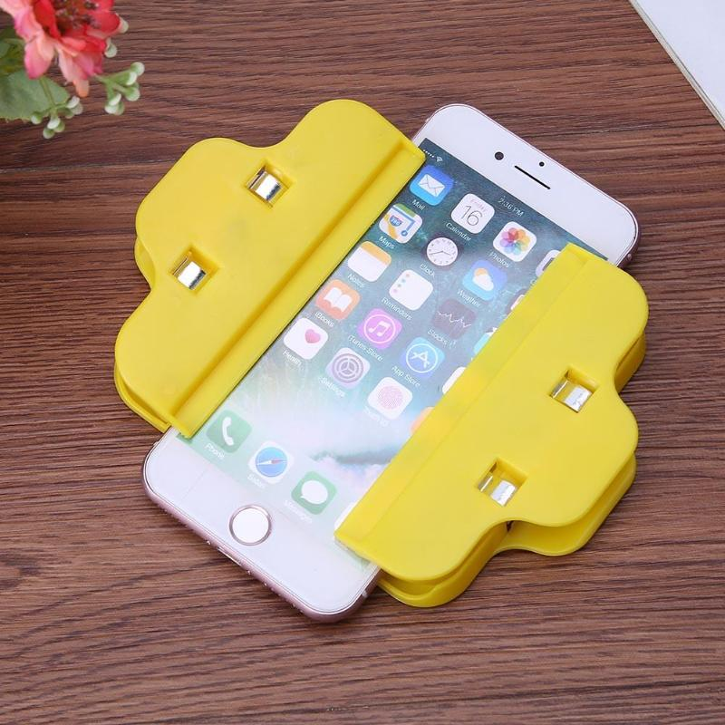 4pcs Universal Mobile Phone Fixture Jig Cellphone Repair Tools Plastic Fastening Clamp Clips For Cell Phone Tablet Ferramentas