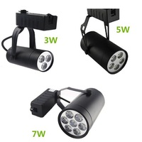 Led parça ışık dim 3 W/5 W/7 W/9 W/12 W Alüminyum Led spot Enerji Tasarrufu LED lamba spot işık showroom yüzeye monte ışık