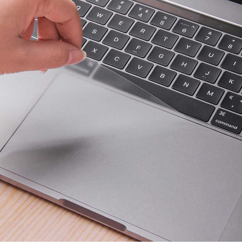 Protecteur clair pour Apple Macbook Air 13 Pro 13.3 15 Retina Touch Bar 12 tablette tactile ordinateur portable Touchpad protecteur Film autocollant