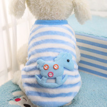 XXS-XXL Cute Striped Sweater Pet Dog Clothes Coat Jacket Puppy Small Dogs Cat Costume Apparel Hoodies Chihuahua Yorkie Warm Soft