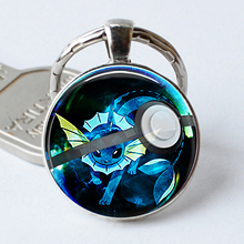 Pokemon Silver Plated Key Chains