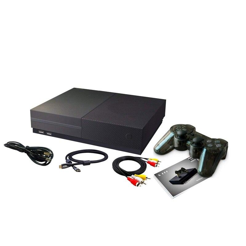 Console de jeu rétro, système de divertissement Console de jeu vidéo HD 32GB 800 jeux classiques 4K sortie TV HDMI avec Joystick 2 pièces pour