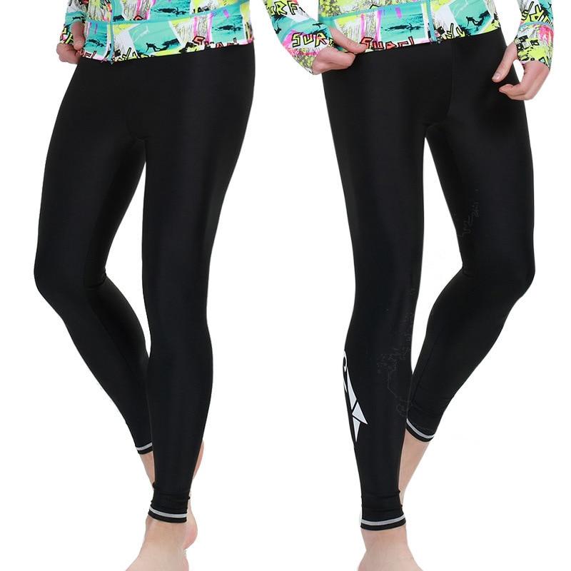 00d248ac6 SBART Women Men Surfing Leggings Wetsuit Pant Rash guard Tight Pants  Swimsuit Anti-Jellyfish Snorkeling