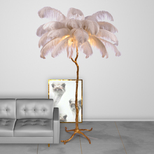 Modern LED Floor Lights Copper Standing Lamp for Living Room Bedroom Decoration Floor Lamp Indoor Lighting Standing Light Lustre