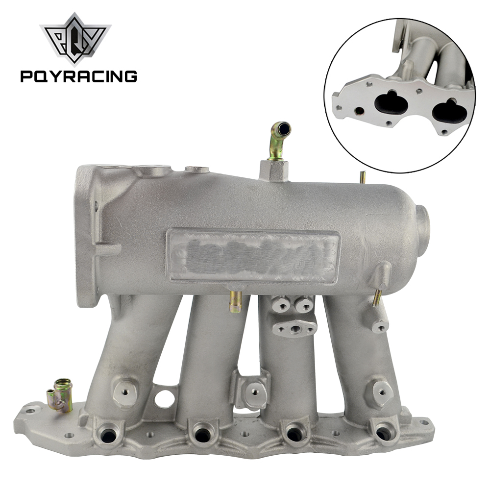 PQY - For b18c1 Aluminum 70mm Cast air Intake Manifold FOR 94-01 Acura Integra Dc2 Dc4 PQY-IM43-CA pqy plastic air intake pipe for honda civic 92 00 ek eg with air filter intake pipe black pqy ait11bkn