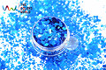 RP321-260 Blue Colors Mix Colors Dot shapes round Glitter for nail art ,nail gel, nail polish makeup and DIY decoration