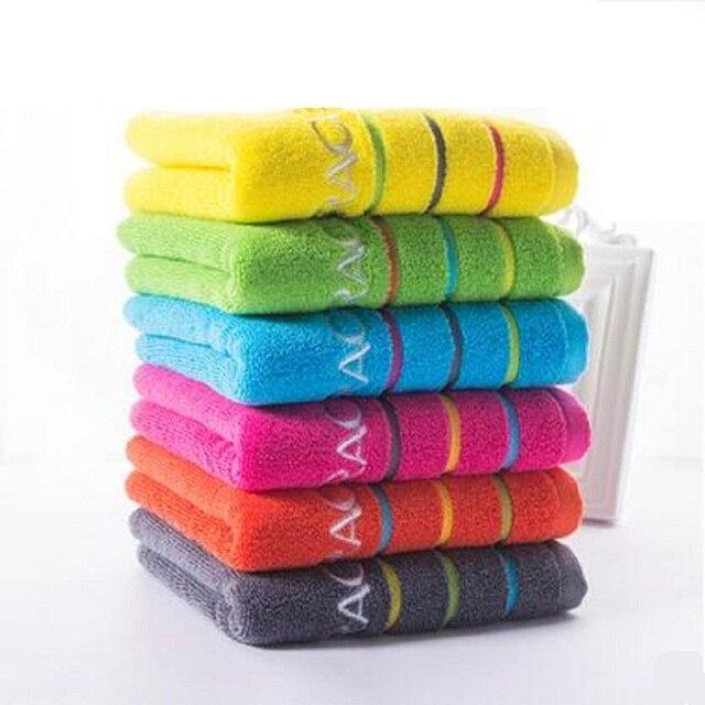 למעלה מכירת 100% כותנה לעבות פנים יד חדר אמבטיה מגבות ניקוי פנים יד שחיית ספורט towel towel טקסטיל לבית