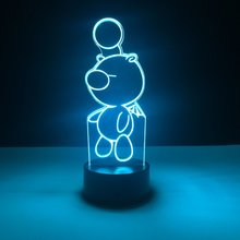 Baby Led Nighlight Moogle Final Fantasy Night light for Kids Bedroom Decor Light Boys Best Gift 3d Lamp Children