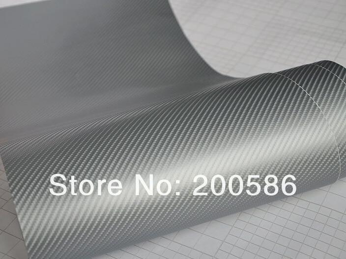 4D Gloss Black Carbon Fibre Vinyl Wrap Sticker Air//Bubble Free All Size Cheapest