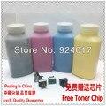 Cor de Toner em pó para Konica Minolta MagiColor 7450 7440 de recarga de toner, Para Konica 7440 7450 pó de Toner garrafa, 4 cores