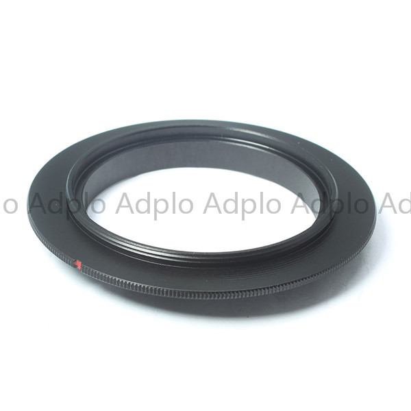lensa adapter work for 49mm Macro Reverse Adapter Ring For OM4/3  OM-D E-M1 E-M5 E-M10 Pen E-PL6 E-P5 E-PL5 E-PM2 E-P3 E-PL3